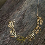 FILAMENT NECKLACE (24kt)