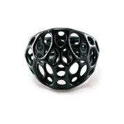 2-LAYER CENTER RING (black)