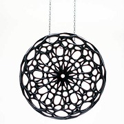 CELLULAR PENDANT (black)