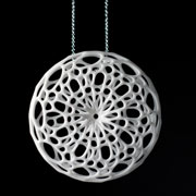 CELLULAR PENDANT (white)