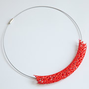 HYPHAL NECKLACE (red)