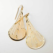 DICHOTOMOUS EARRINGS (24kt)